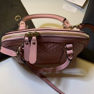 Gucci Bags - 🌸NEW Gucci Micro GG Soft Pink Leather Purse